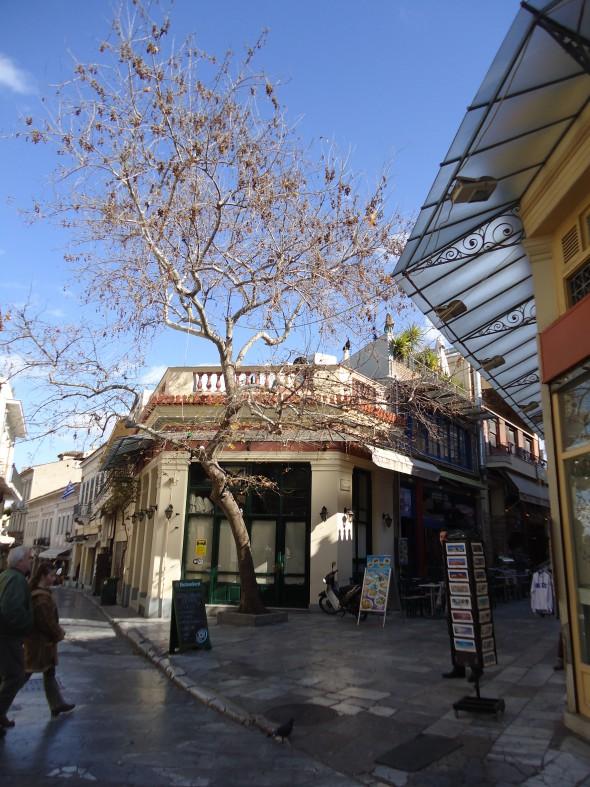 Atina Şehir Merkezinden - Fotoğraf PeymanÜnalsın