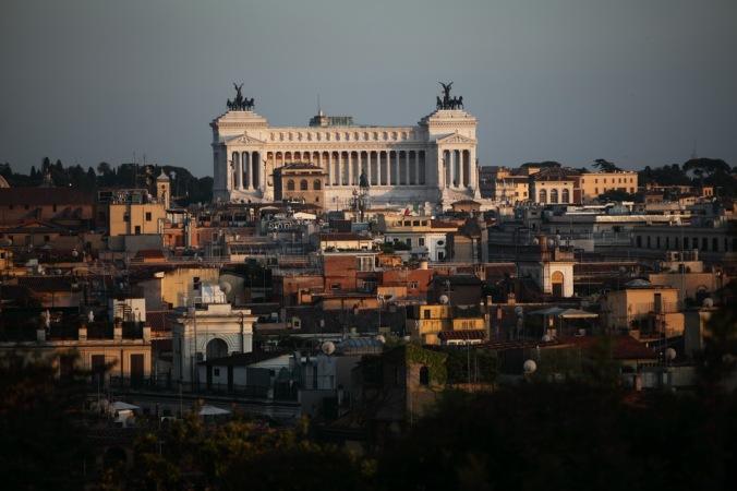 Vittorio Emanuele Anıtı - Fotoğraf KorkutGökhan