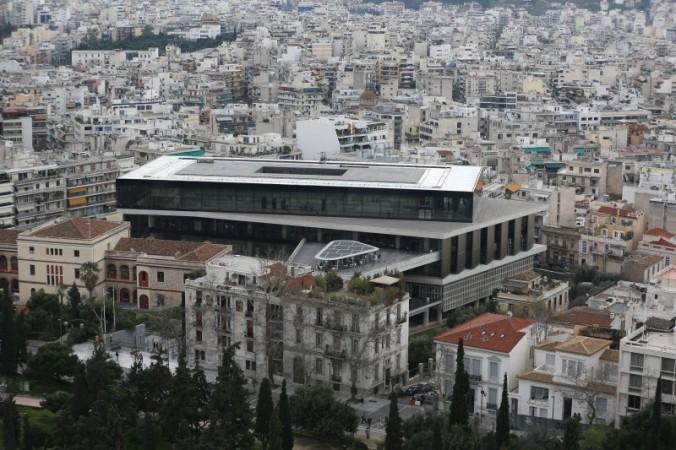 Atina Arkeoloji Müzesi ve Akdeniz'li şehrin dokusu - Fotoğraf KorkutGökhan