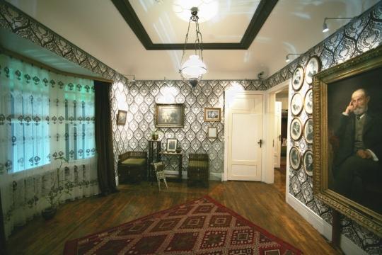 Edebiyat-ı Cedide Odası - Fotoğraf Aşiyan Müzesi Arşivi