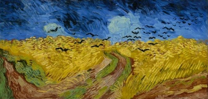 Buğday Tarlası ve Kargalar - Vincent Van Gogh